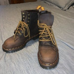 Dr Martens 1460 Crazy Horse Aztec Boots